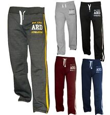 Men's Joggers Cotton Fleece Jogging Trousers Pants Track Suit Bottom MMA Boxing