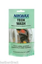 Nikwax Tech Wash Pouch 100ML Waterproof Clothing Tents Rucksacks Sleeping Bag