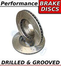 LEXUS RX400h 3.3 5/05-12 / 09 319 mm percés & rainure sport disques de frein avant