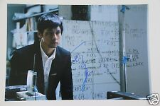Hidetoshi Nishijima 西島 秀俊 SIGNED 20x30cm Japan actor foto autografo/Autograph