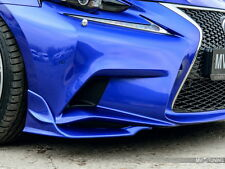 Front Bumper Lip Splitters for Lexus IS III gen F Sport 2013-2016