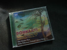 DOHNANYI VARIATIONS ON A NURSERY SONG ULTRA RARE NEW SEALED CD!