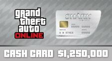 Grand Theft Auto V Online (GTA5)  Great White Shark Cash Card Xbox One