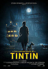 The Adventures Of Tintin - The Secret Of The Unicorn (DVD, 2012)