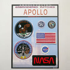 NASA APOLLO 11 / Saturn V Mission Crew Patch Set - Iron-On Patch Mega Set #083