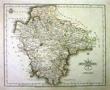 Antique map, Devonshire ..
