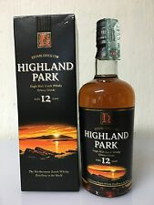Highland Park 12 yo Orkney Islands Single Malt Scotch Whisky 700ml 40%