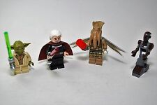 LEGO STAR WARS DUEL ON GENOSIS 75017 YODA DROID POGGLE COUNT DOOKU FIGURES