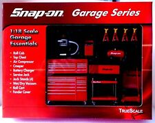 SNAP-ON 1/18 SCALE GARAGES ACCESSORIES 13PCS GARAGE SERIES TRUE SCALE 07001 1:18
