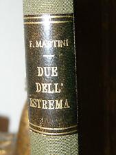 POLITICA SINISTRA - Martini: DUE DELL'ESTREMA Guerrazzi Brofferio 1920 ex-libris