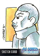 Dr Doctor Who Big Screen Additions Sketch Card by Amy Provonost /1