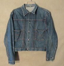 V7033 Montgemery Ward Powerhouse 1960's 101 Metal Button Up Jacket Pleated