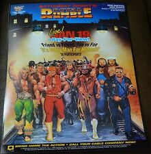WWE WWF Vintage Royal Rumble 1991 Poster 16x20 Macho Man Randy Savage