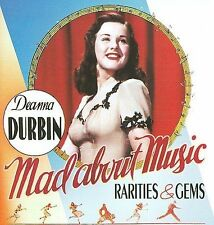NEW Mad About Music: Rarities & Gems by Deanna Durbin CD (CD) Free P&H