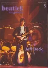 Beatleg May/2005 Mag Japan Jeff Beck Special Jennifer Batten Clapton Jimmy Page