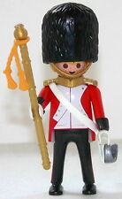 ROYAL GUARD MAJOR Playmobil zu Rotröcke Soldat 5581 4577 Garde Top Custom 1409