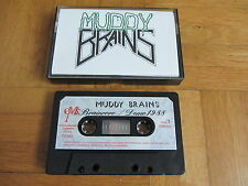 MUDDY BRAINS Braincore RARE original 1988 DEMO Cassette Tape