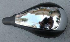 SHIFT KNOB CHROME BLACK LEATHER SHIFTER 300M LHS SEBRING VOLGA  OEM TRANSFER 3