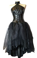SALE! Spooky Gothic Goth Wedding Gown. Dress. Creepy. Vampire Free Shipping ����