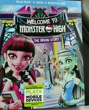 Welcome to Monster High The Origin Story (Blu-ray/DVD 2016 2-Disc Set)
