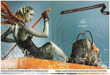 PUBLICITE ADVERTISING 105  2006  HERMES  foulards (2p)  APPM
