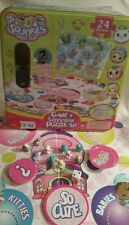 SQUINKIES BOARD GAME & LENTICULAR PUZZLE Tin 2010  Complete