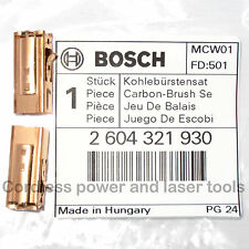 Bosch Carbon Brushes + Holders for PSB 850-2 RE Drill Genuine Part 2 604 321 930