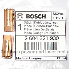 Bosch Carbon Brushes + Holders for PSB 750 RCE Drill Genuine Part 2 604 321 930