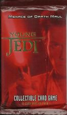 STAR WARS YOUNG JEDI CCG - MENACE OF DARTH MAUL BOOSTER
