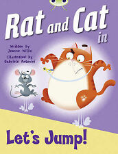 Rat and Cat in Let's Jump! (Red C) (Bug Club),GOOD Book