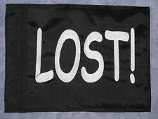 Custom LOST! Safety Flag 4 ATV UTV dirtbike Jeep Dune  Whip Pole