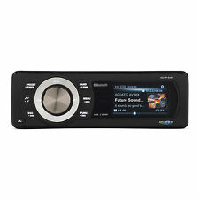 Aquatic AV Bluetooth/USB/MP3/AM-FM Radio Waterproof Marine Stereo AQ-MP-5UBT