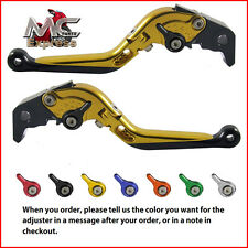 Folding Extendable Adjustable Levers Buell XB12R XB12Ss XB12Scg 2009 Gold