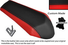 RED & BLACK CUSTOM FITS DERBI GPR 50 125 UNDERSEAT EXHAUST 07-13  REAR COVER