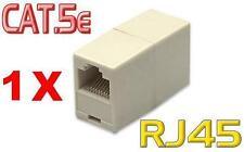 Netzwerk Kupplung Adapter Modular Verbindung RJ45 8P8C für Patch Kabel LAN DSL