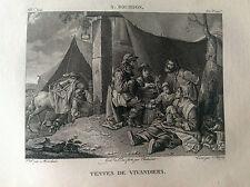 TENDE DI VIVANDIERI Bourdon -  Galerie du musée Napoléon J. Lavallée 1804-1815