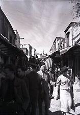 RHODES c. 1935 - Bazar Grèce Négatif Verre - V9 1015
