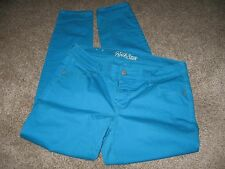 Women's Old Navy Rock Star Turquoise Skinny Leg Stretch Jeans Jean Size 16