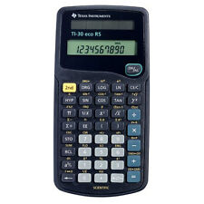 Texas Instruments TI30ECORS Battery Powered Scientific Calculator New Uk