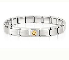 nomination Starter bracelet And Raised Star Charm RRP £42.95