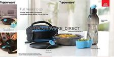 Tupperware Mens Lunch - insulated Bag - Crystal Wave Bowl - 750 ml Black flip