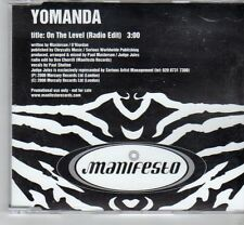 (FM738) Yomanda, On The Level - 2000 DJ CD