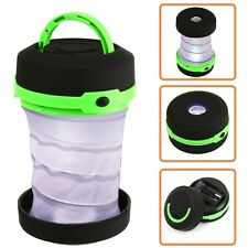 Led Folding Camping Lantern For Camp Night Lamp Hiking Flashlight Torch