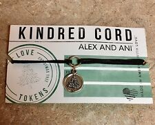 Alex And Ani Authentic Kindred Cord Christmas Tree Pull Cord Bracelet Free Ship