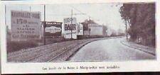 1930  --  MARLY LE ROI  PANNEAUX PUBLICITAIRES  E193