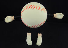 "Stress Relief Ball ~ ""Mr. Baseball"" Squeeze Ball w/Adjustable Arms/Legs"