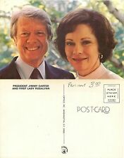USA - President Jimmy Carter and First Lady  Rosalynn (S-L XX216)