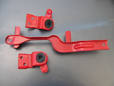 Mazda Protege & Protege5 Battery & Upper Radiator Brackets (Powder Coated Red)
