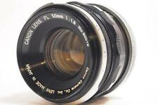 [EXCELLENT+++] Canon FL 50mm F1.8 Len From Japan