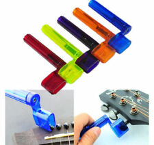 Guitarra Eléctrica Acústica De Plástico String Winder Peg-Puente Pin Herramienta Color al Azar